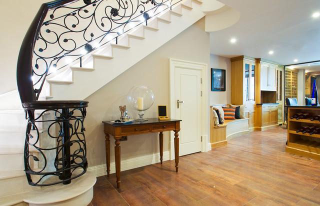 The halcyon winnington road london staircase for Villa interior designers ltd nairobi kenya