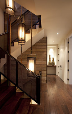 The Hillside House modern staircase