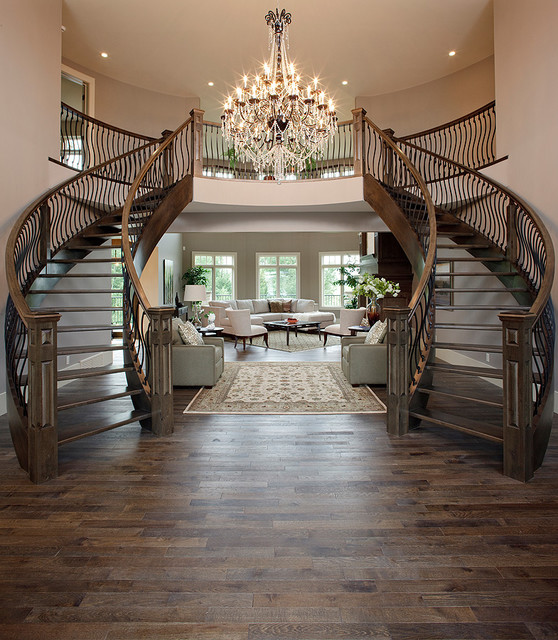 The Mystique By Maillot Homes Traditional Staircase