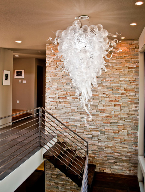 The Overlook Residence Modern Staircase Vancouver