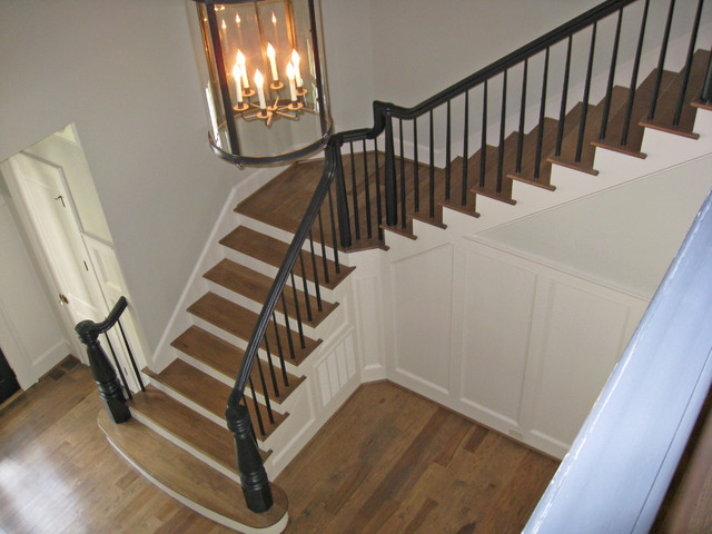The Pines traditional-staircase