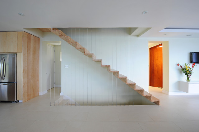 The Reefs at Ballast Bay contemporary-staircase