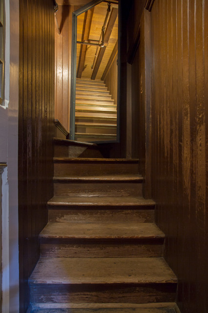 Inspiration for a victorian staircase remodel in San Francisco