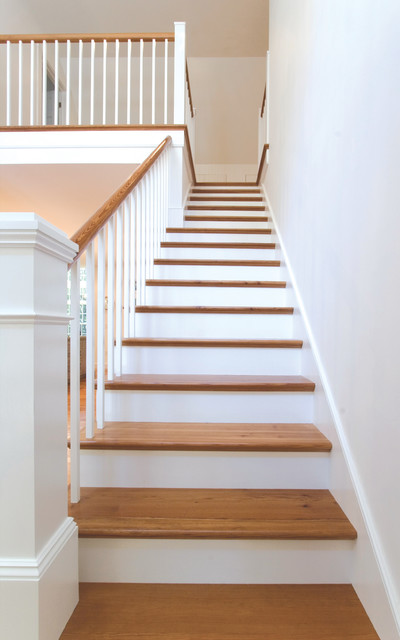 The Woods Company traditional-staircase