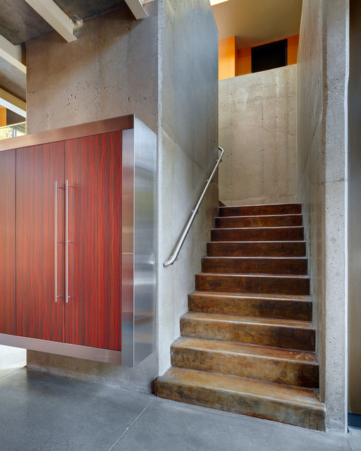 The Zinc House modern-staircase