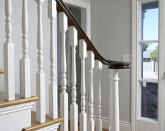 tiburon home remodel traditional staircase