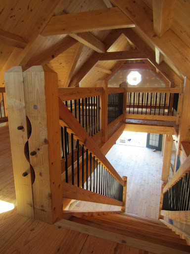 Timber Stair and Rail modern-staircase