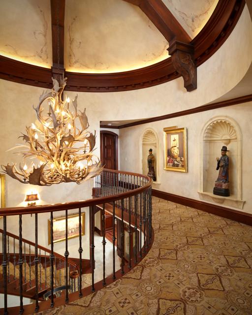 Timeless Tudor Estate traditional-staircase