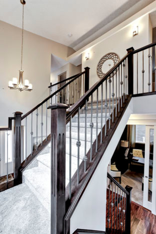 Tofino In Nolan Hill In NW Calgary Contemporary Staircase Calgary By