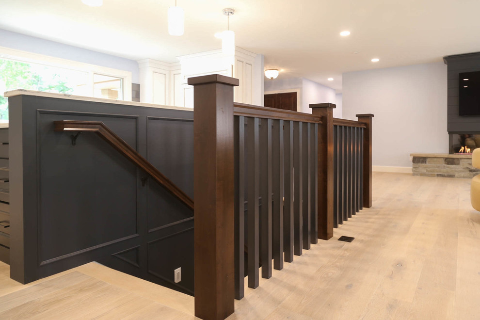 Tomar Court Remodel - Transitional - Staircase - Other ...