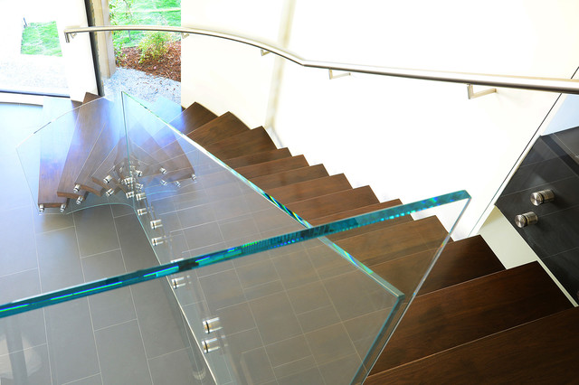 SoCal Stairs Staircases U0026 Balustrades. Top Down View Modern Staircase