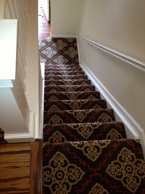 Top Quality Stair Runner Installation Traditional
