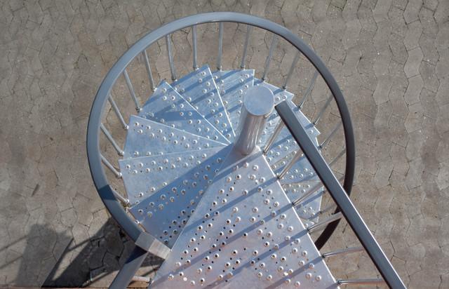 Toronto Exterior Spiral Staircase - Contemporary - Staircase ...