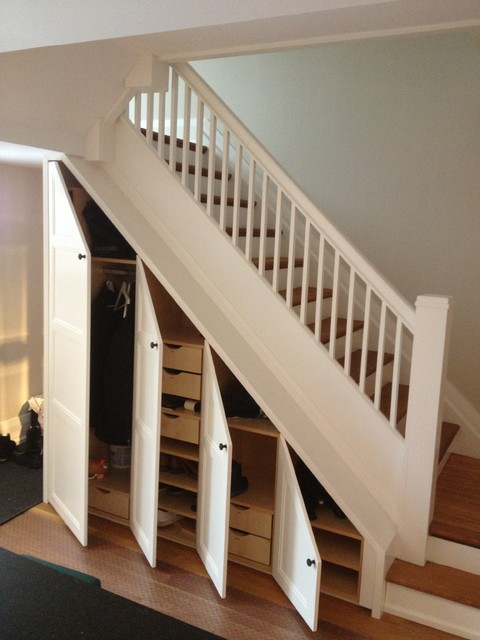 toronto kitchen project - traditional - staircase - toronto -