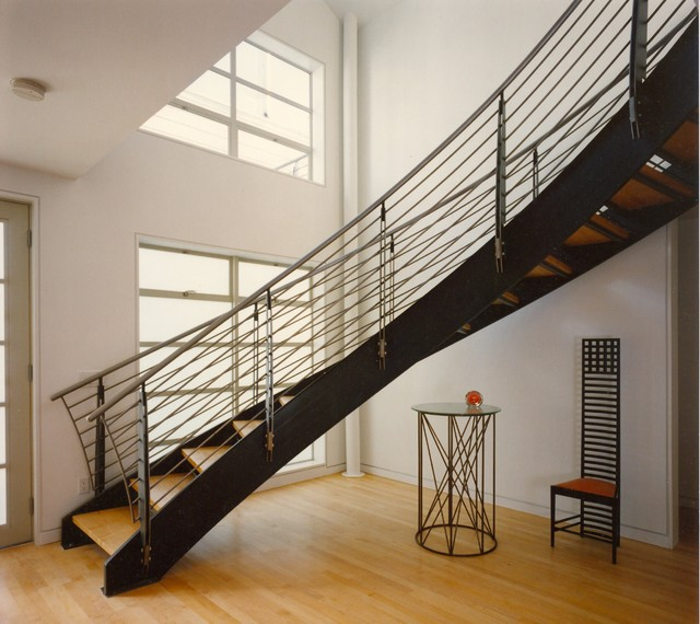Towards a New Architecture-Staircase contemporary-staircase
