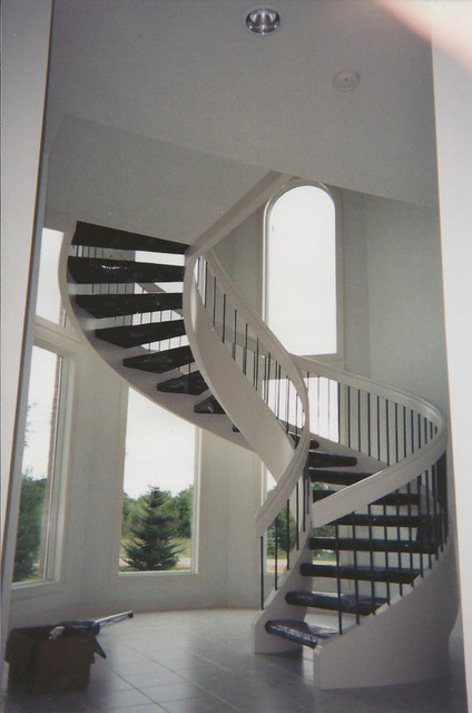 Tower Modern Staircase : Tower stair contemporary staircase other metro by