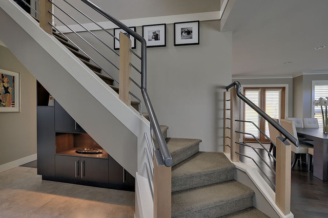 Tracey Lamoureux contemporary-staircase