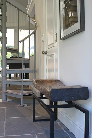 Traditional Guest House contemporary-staircase
