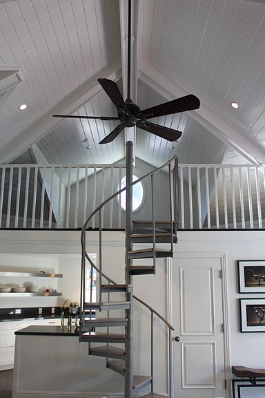 Traditional guest house contemporary staircase san for Kitchen design 01532