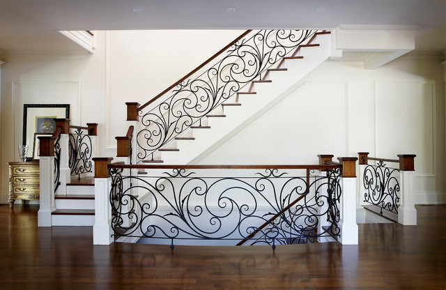 Staircase Large Traditional Wooden Idea In Toronto With Risers