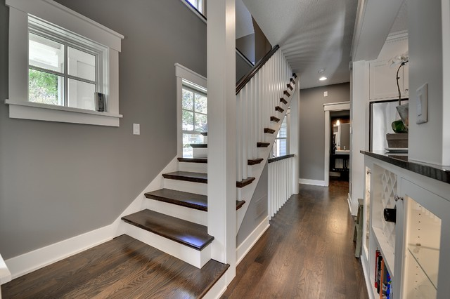 Minneapolis New Construction traditional-staircase