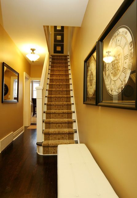 Jennifer  Brouwer Design Inc traditional staircase