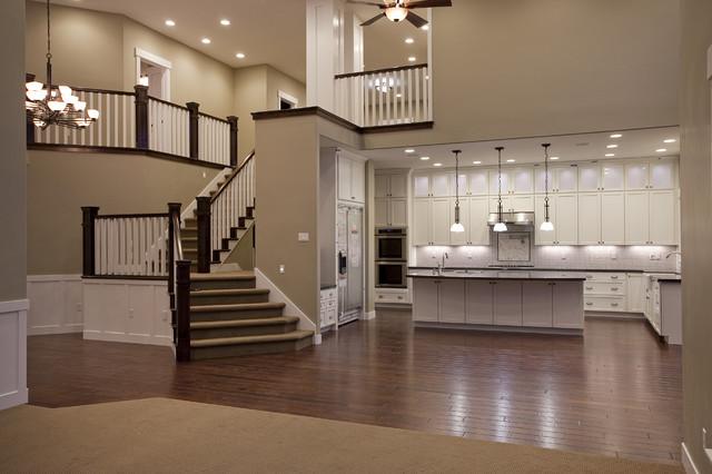 Custom Home - Draper, UT traditional-staircase