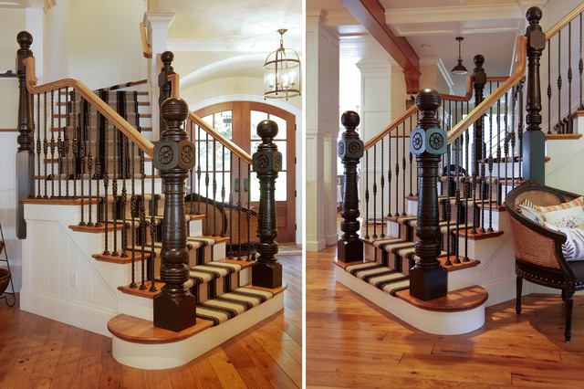 Front Staircase traditional-staircase