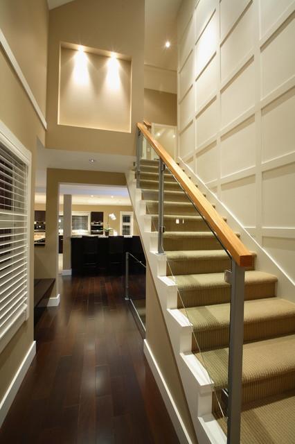 Traditional staircase for Arredare pianerottolo scale