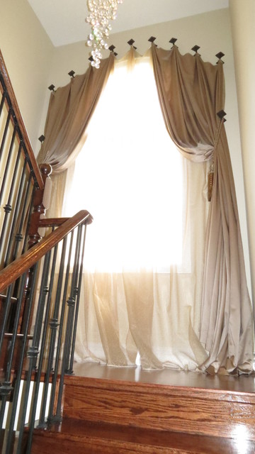 Traditional Window Treatments traditional-staircase