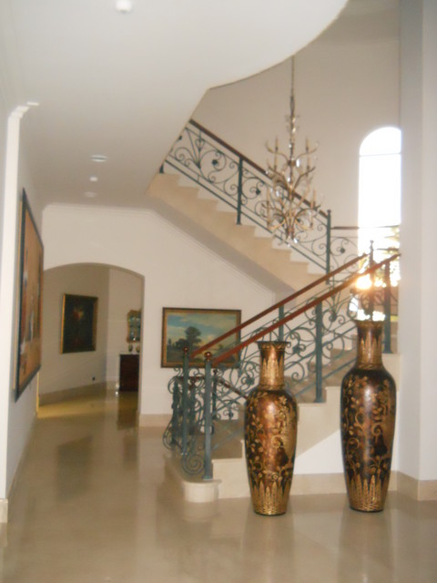 Traditional with Clean lines traditional-staircase