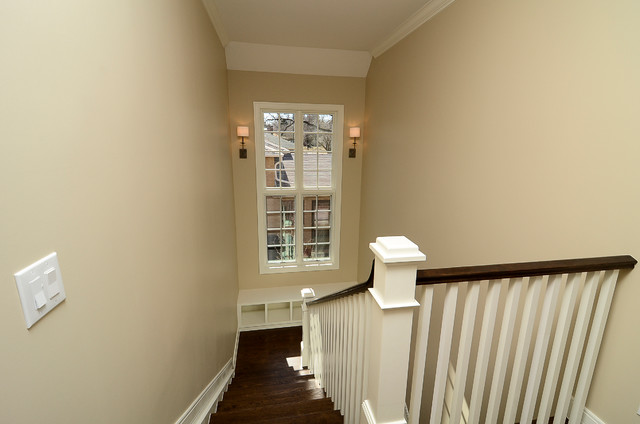 Hilltop Residence transitional-staircase