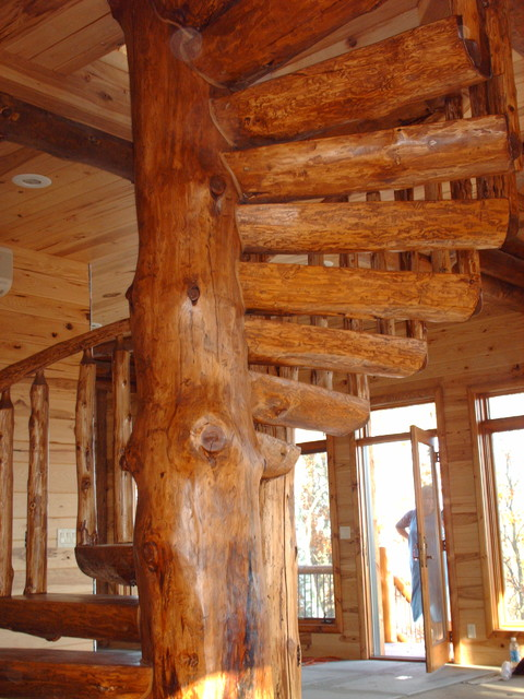 Tree House Traditional Staircase Minneapolis By
