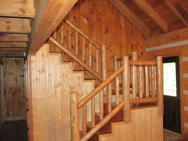 Trim Carpentry traditional-staircase