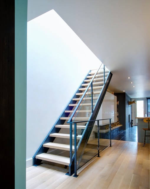 Trinity Bellwoods Townhouse Contemporary Staircase