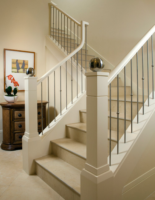 I Love The Contemporary Elegance Of The Newel Post