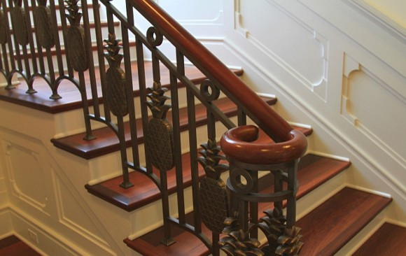 Inspiration for a tropical staircase remodel in Hawaii