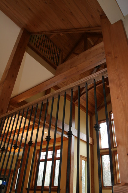 Trusses staircase