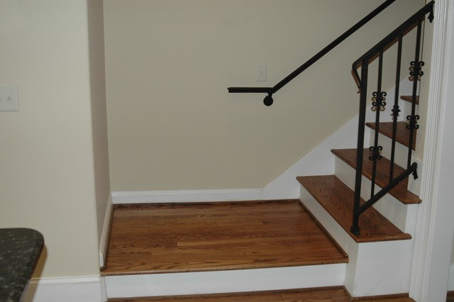 Tudor Remodel and Second Story Addition traditional-staircase