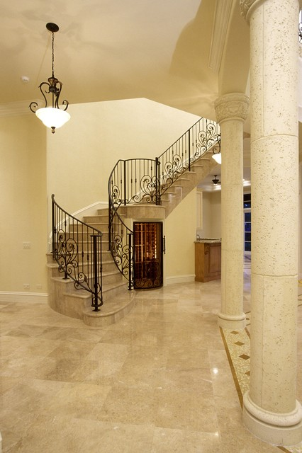 Tuscan House staircase