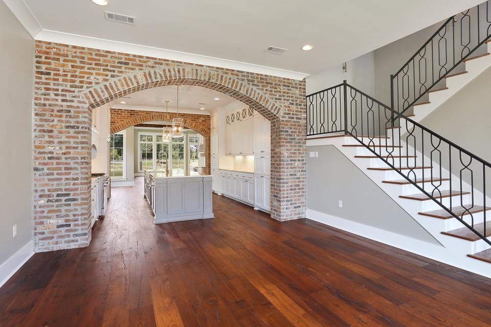 Two Story Open Floor Plan