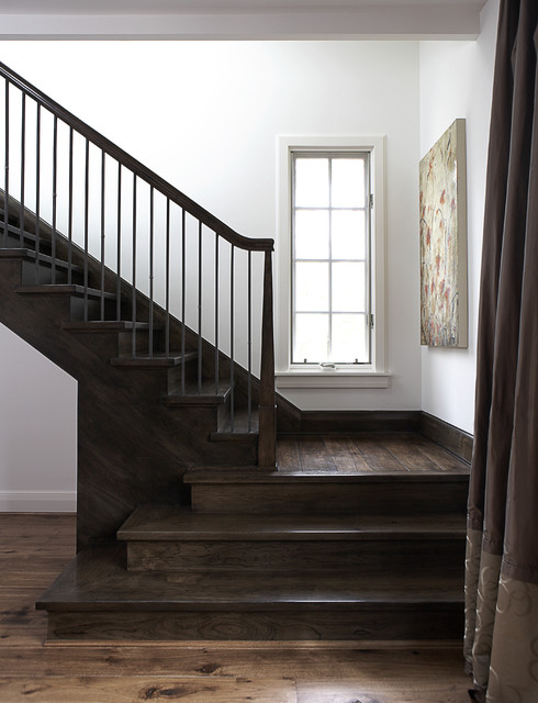 Madison St contemporary-staircase