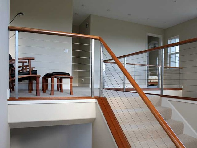 Ultra Tec® Stainless Steel Railing System Modern Staircase