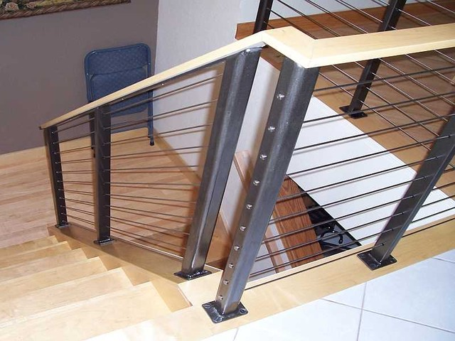 stainless steel cable wire stair railings