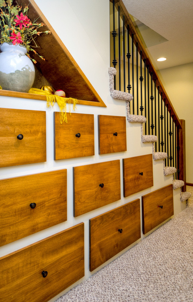 Example of a classic staircase design in Other