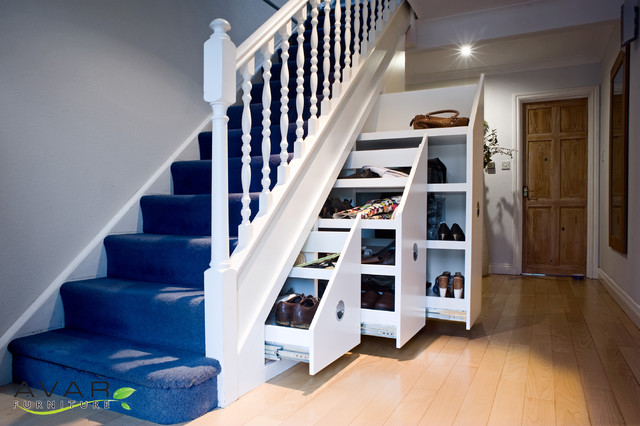 Bespoke Under Stairs Shelving: Under Stairs Storage