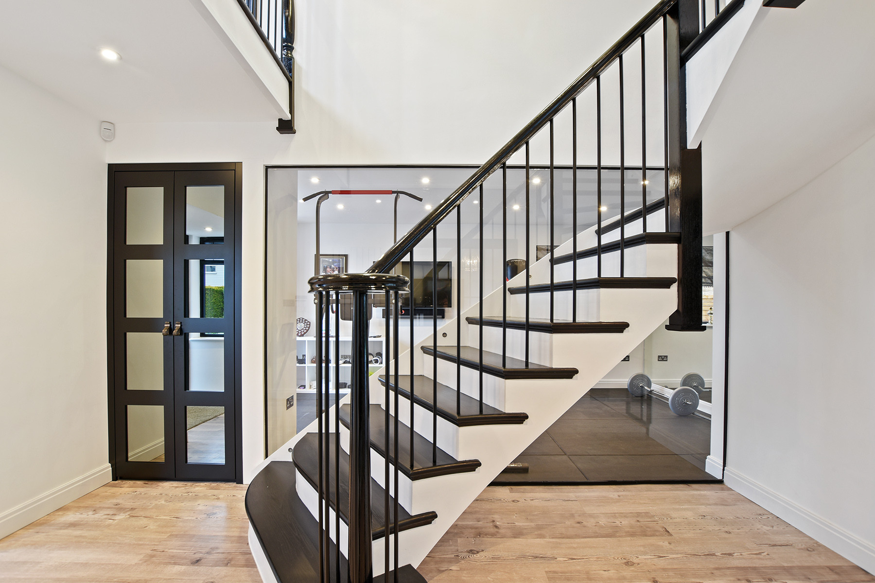 Upper Hill Rise - Staircase