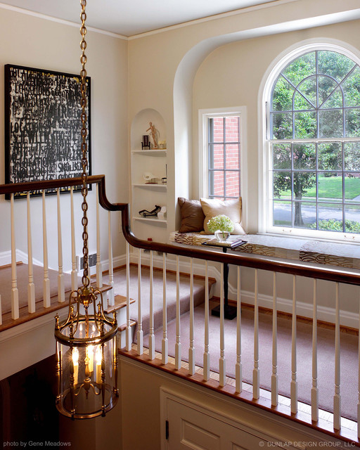 Upper Staircase traditional-staircase