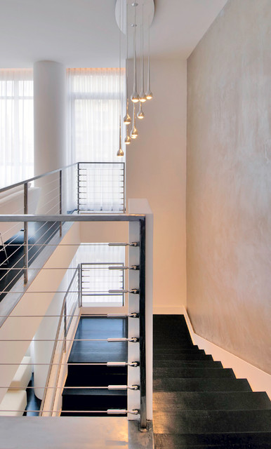 Upper West Side Duplex modern-staircase