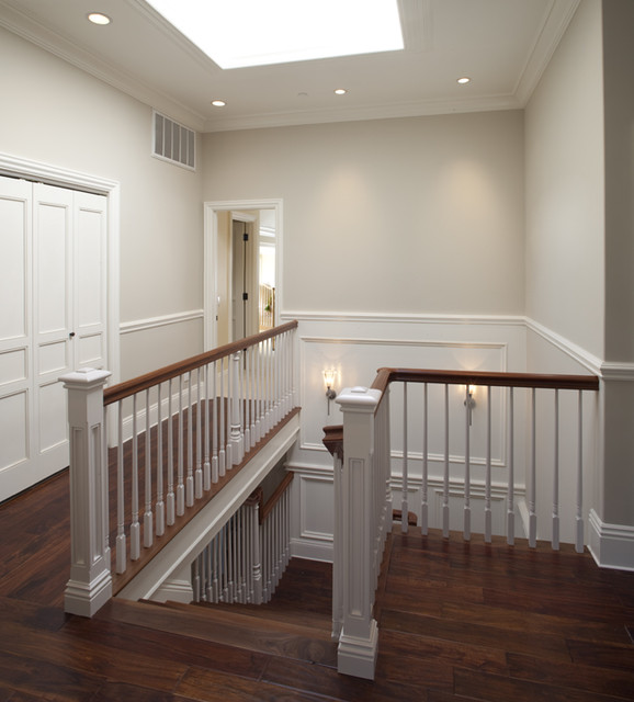Upstairs Foyer Ideas : Upstairs hall traditional staircase san francisco